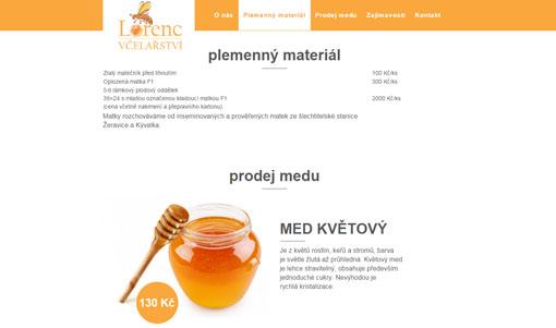 web včelařství lorenc
